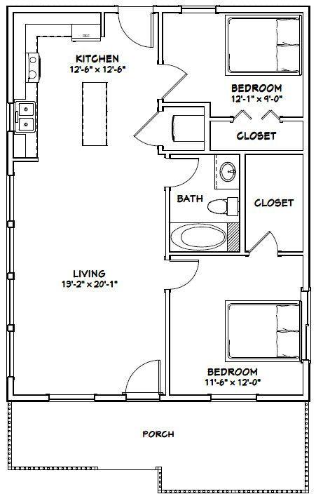 Fine 26X34 House 26X34H1D 884 Sq Ft Excellent Floor Download Free Architecture Designs Scobabritishbridgeorg