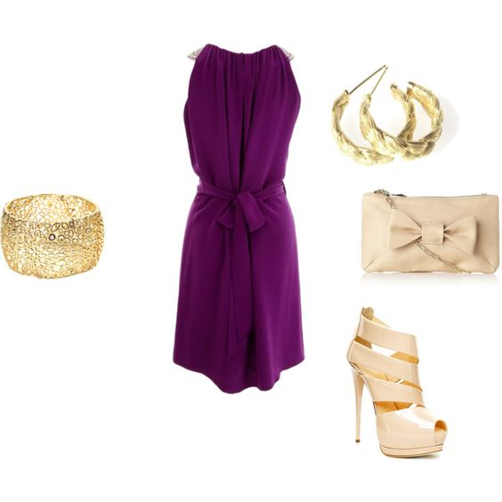 Beautiful Color and Wicked Shoes <3