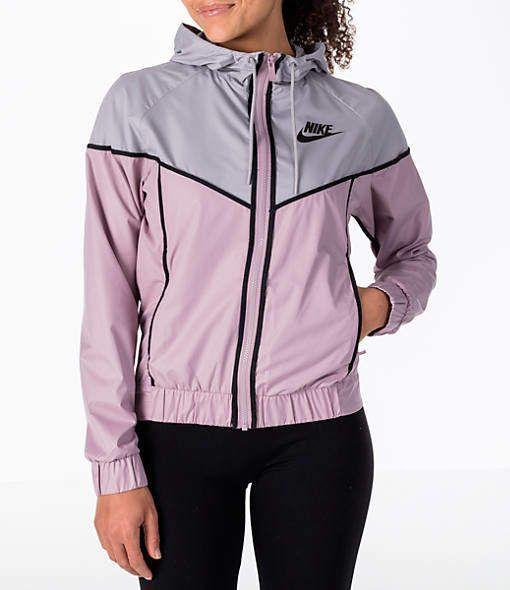 Nike Women's Sportswear Woven Windrunner Jacket ...