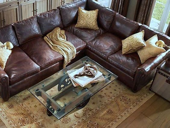 unique glass top coffee tables - Google Search