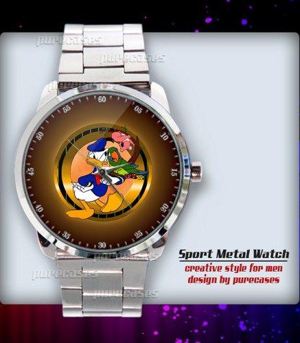 Donald Duck cartoon character Comics Sport Metal Watch