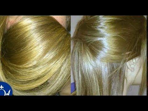 سيحسدك الجميع على لون شعرك صبغة بلون اشقر فاتح بالبيت بمكونات بسيطة وتغطي كامل الشيب Youtube Hair Hair Styles Long Hair Styles