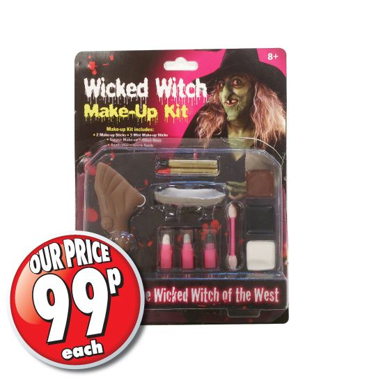 Halloween Makeup Store annabelle halloween makeup Halloween Wicked Witch Make Up Kit At The 99p Store