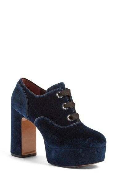 Free shipping and returns on MARC JACOBS 'Beth' Oxford Pump (Women) at…