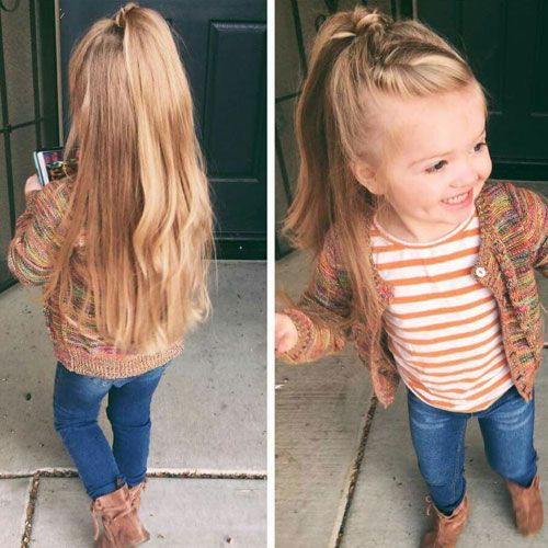 Little girls long hair styles