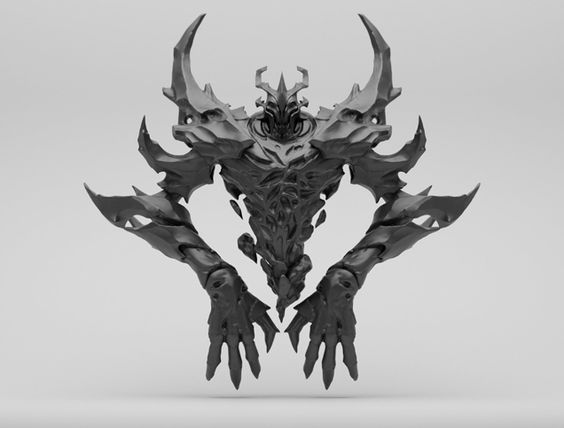 Dota Renders Sure Are Detailed