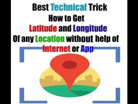 How To Get Latitude And Longitude In Google Earth