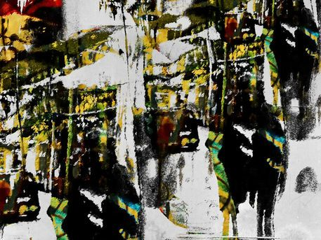 'Somewhere in the city' von Gabi Hampe bei artflakes.com als Poster oder Kunstdruck $20.79