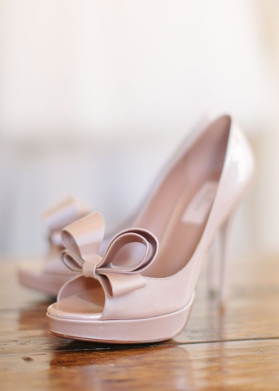 Valentino Blush Shoes -| See more on SMP - Marta Locklear Photography