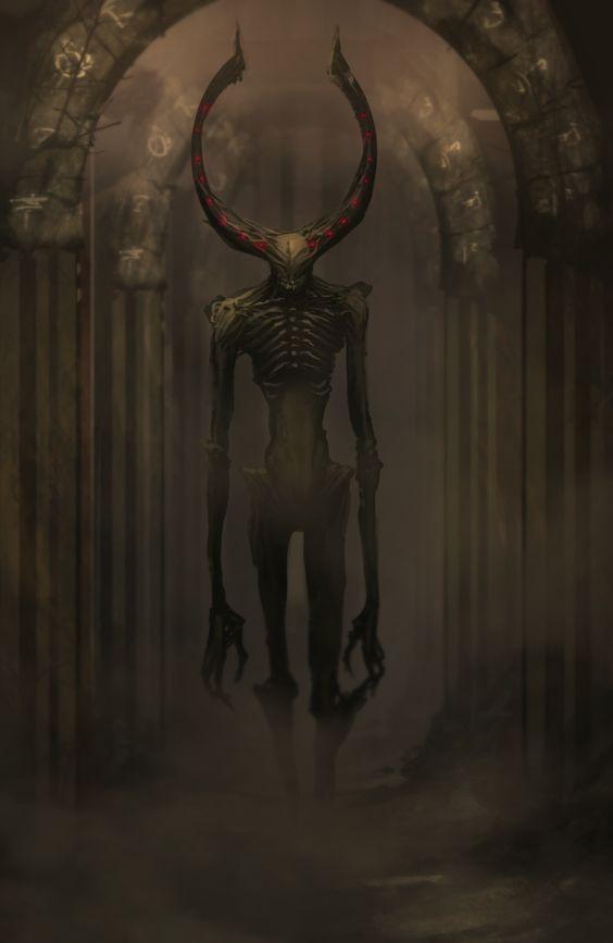 fantasy-art-engine:  Abyssal Wendigo by Legendary Memory