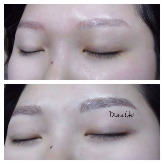eyebrow tattoo korean style and diff 39 rent strokes on