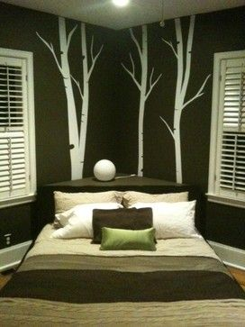 Corner Headboard Design Ideas, Pictures, Remodel and Decor. This is the first time I've seen a corner h.b. I've been looking for years, and this is the closest I've come to finding what I have in mind.
