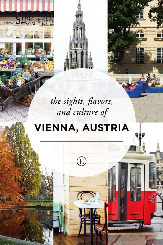 The Sights, Flavors, and Culture of Vienna, Austria #theeverygirl