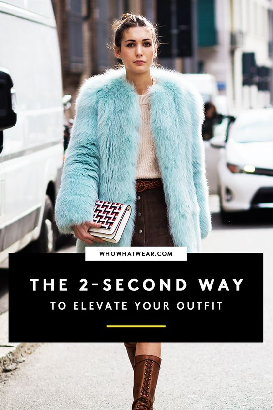 Even a basic pair of leggings and a tee can be elevated with this 2-second trick. Try this hack to elevate any outfit.