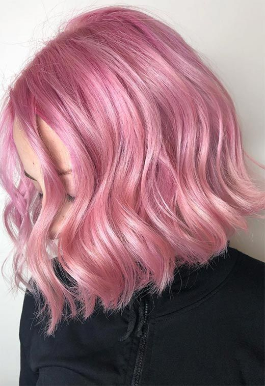 55 Lovely Pink Hair Colors Tips For Dyeing Hair Pink Pink Hair