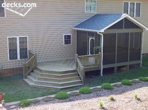Home Water Fall Stairs : stairs gazebo porch stairs porch deck screen porch waterfall stairs ...