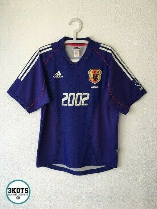 Japan 2002 04 Adidas Special World Cup Football Shirt M Vintage Soccer Jersey Adidas Japan In 2020 Football Shirts Vintage Football Shirts Soccer Jersey