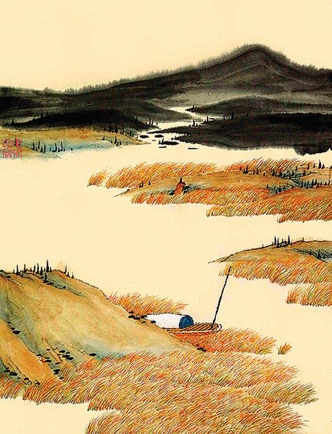 Take A Look At These Beautiful Illustrations Of China S 24 Solar Terms Chinese Landscape Painting Chinese Landscape Asian Style Art