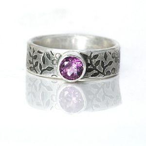 African Violet Ring $120