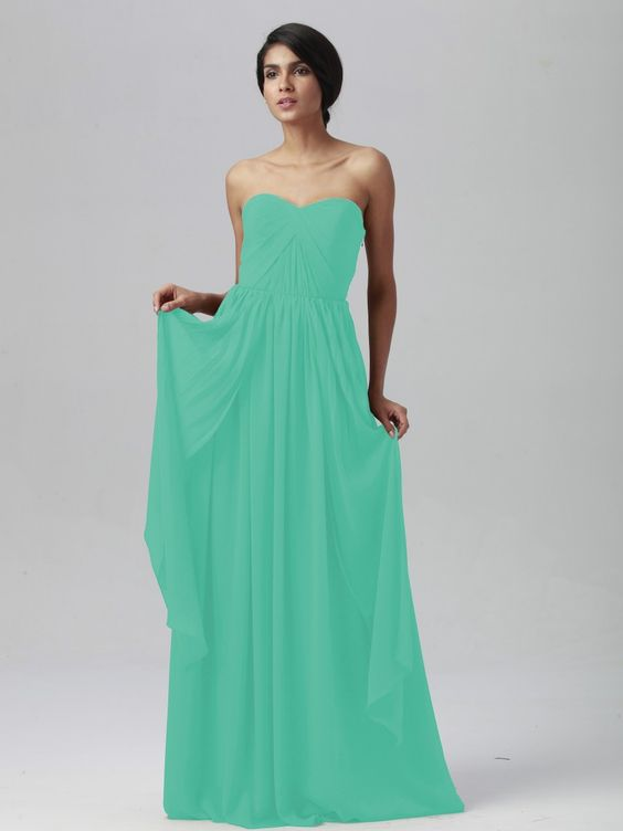 Pin to Win a Wedding Gown or 5 Bridesmaid Dresses! Simply pin your favorite dresses on www.forherandforhim.com to join the contest! | Multi-wear Chiffon Dress $169.99