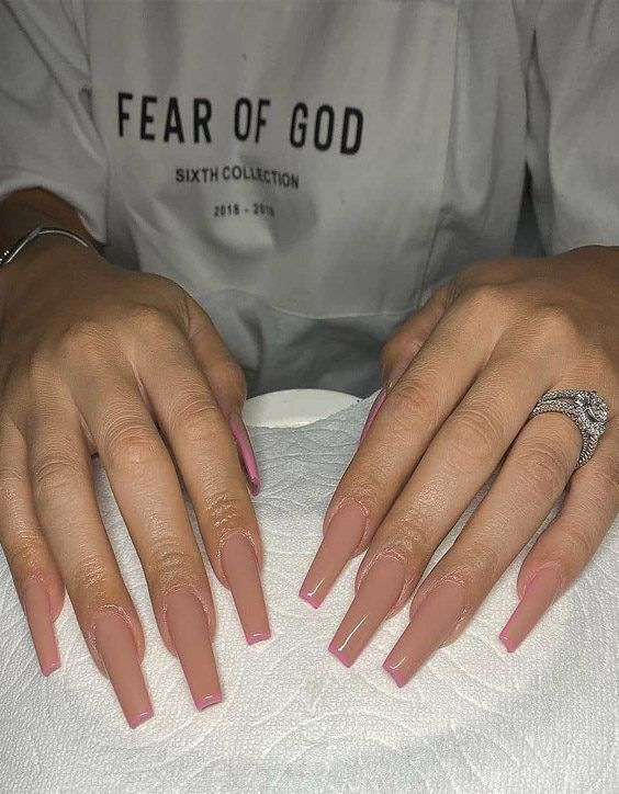 Ideal Cutest Nail Designs For 2020 Superior Girls In 2020 Long Square Acrylic Nails Square Acrylic Nails Long Acrylic Nails