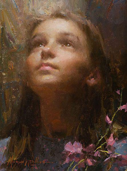 Morgan Weistling - Joy (http://www.hiddenridgegallery.com/store/morgan-weistling/joy.html)  #art #morganweistling