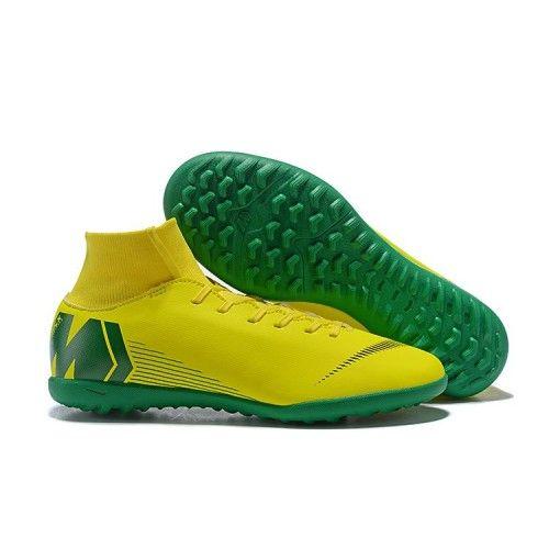 Nike Kids Mercurial SuperflyX VI Elite CR7 FG verde dorado