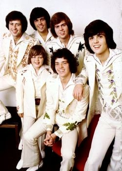 Osmond brothers - 1970 - with my brother (poor guy) 1st concert was so loud, so much screaming but had a great time