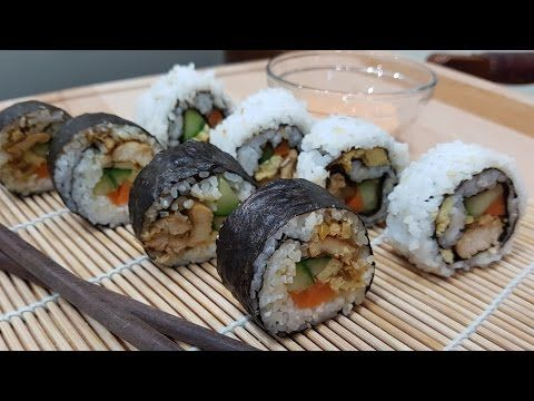 Resep Sushi Roll Ayam Teriyaki 2 Tipe Episode 12 Spicyfoody Youtube Resep Sushi Ayam Teriyaki Resep