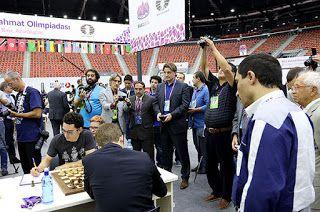 Reino de Caíssa: Baku: penúltima rodada