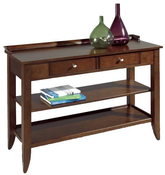 Meridien Dark Sofa Table By Lane Furniture And Decor