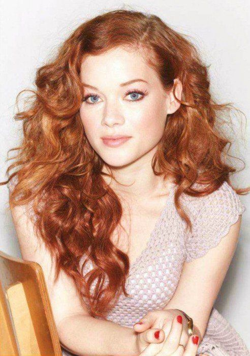 30 Hot Female Actresses Under 30 In 2016 Herinterest Com Red Curly Hair Red Hair Blue Eyes Gorgeous Redhead