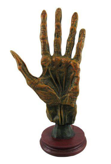 Mano impoluta  La idea es que le cortaron la mano al cadaver, nunca se descompuso del todo y se la considera una reliquia milagrosa.  Hay 1 derechas y 2 izquierdas, puede ser el mismo dibujo flipeado, obviamente.