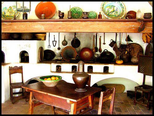 diseño interiores cocinas mexicanas coloniales  Buscar con Google
