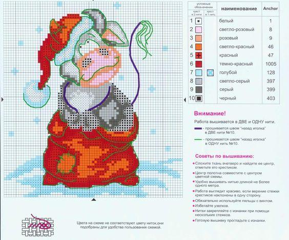 Cross Stitch *@* Christmas Vacas