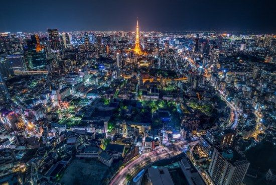 must see melihat pemandangan kota tokyo japan travel pinterest tower and roppongi