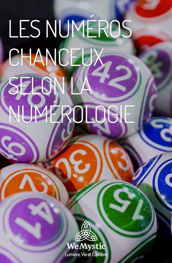 Les Numeros Chanceux Selon La Numerologie Wemystic France Comment Attirer La Chance Comment Gagner Au Loto Attirer La Chance