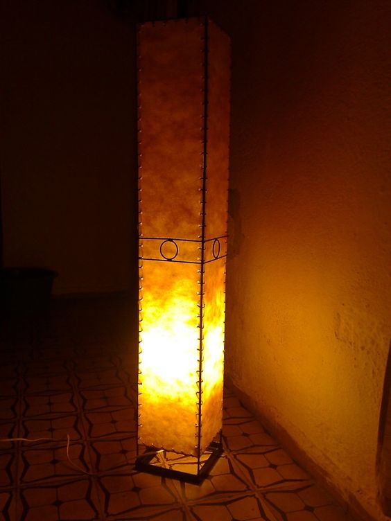Floor lamp - lámpara de piso