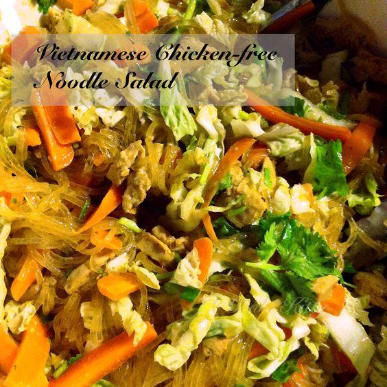 Vietnamese Chicken-free Noodle Salad Recipe
