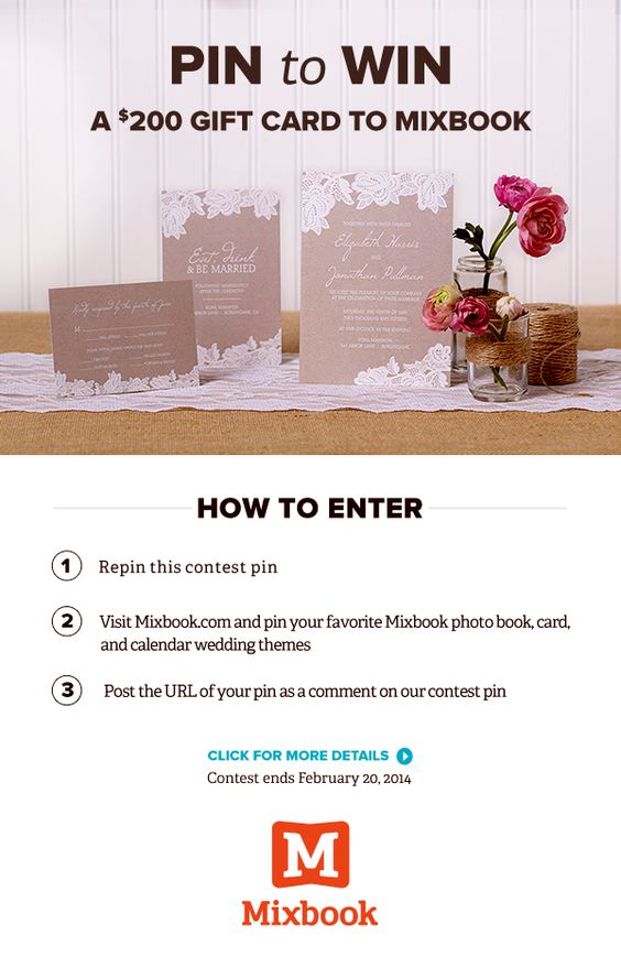 Wedding Gifts For USD200 : ... themes for the chance to win a USD200 gift card! Click for details