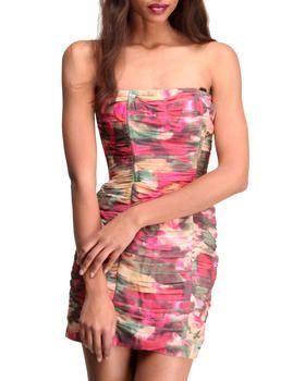 Oksana Sou Printed Mesh Dress by DJP OUTLET @ DrJays.com