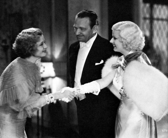 Billie Burke, Wallace Beery and Jean Harlow - DINNER AT EIGHT