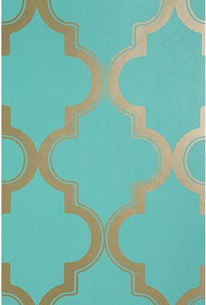 UrbanOutfitters Removable Wallpaper Marrakesh Honey