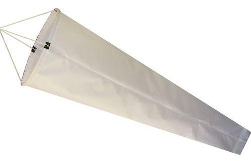 $68 Flightsock White Windsock-1.5M-Australian Made Windsocks