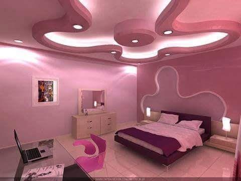 جديد جبس غرف النوم روعة Modern White Living Room Pop False Ceiling Design Kids Jungle Room