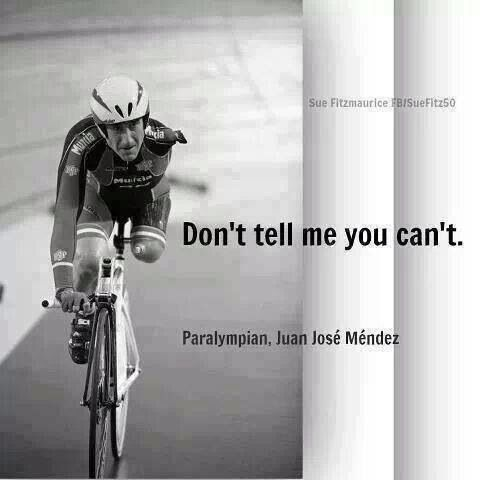 Don't tell me you can't!