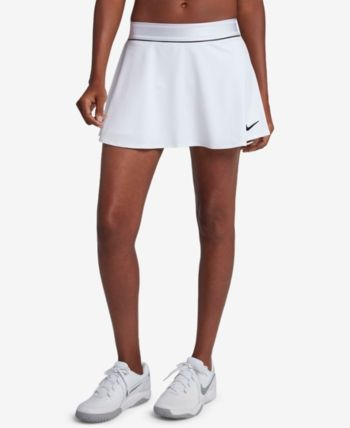 Nike Court Dry Flouncy Tennis Skort White Xs Tennis Dress Womens Tennis Skirts Tennis Skort