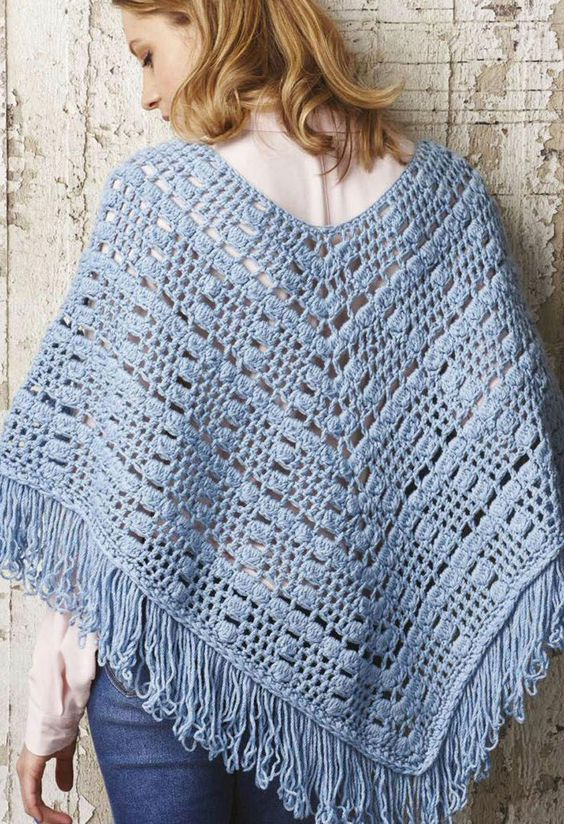Crochet Poncho For Women Patterns Patterns Kid