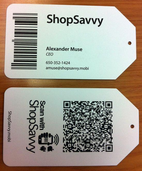 50 Inspirational QR Code Business Cards #qr #qrcode Marketing