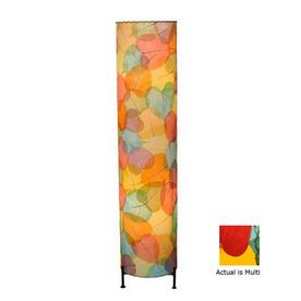 Eangee Home Designs�36-in 2-Light Floor Lamp with Multicolor Shade